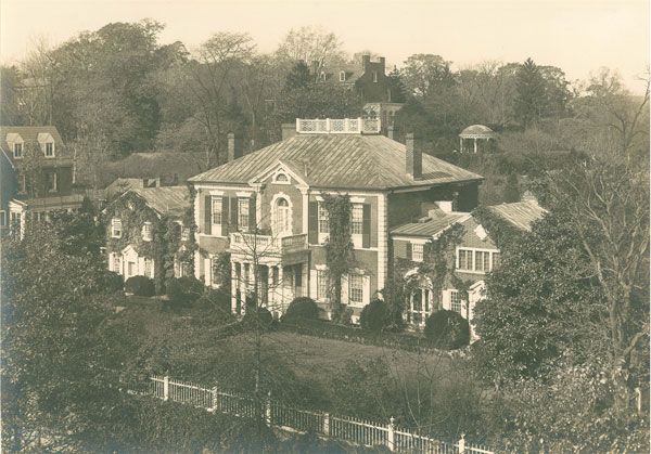 Dumbarton House Aerial