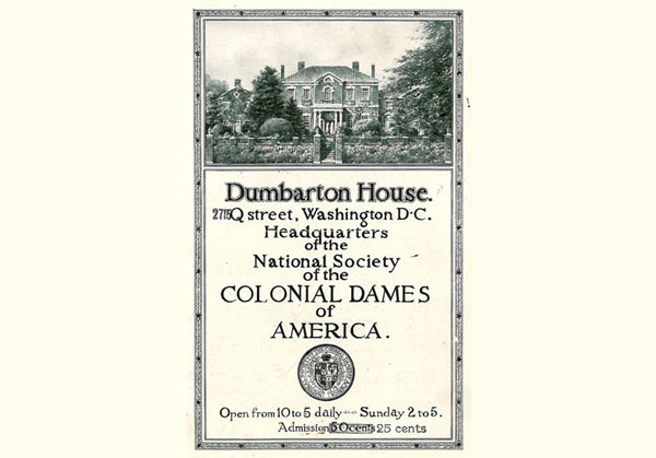 Dumbarton House Ticket