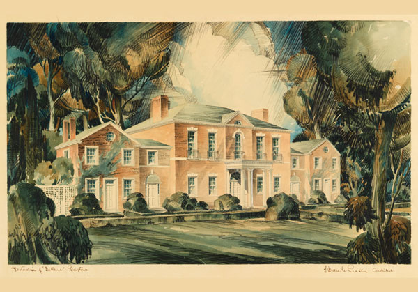 Dumbarton House Watercolor